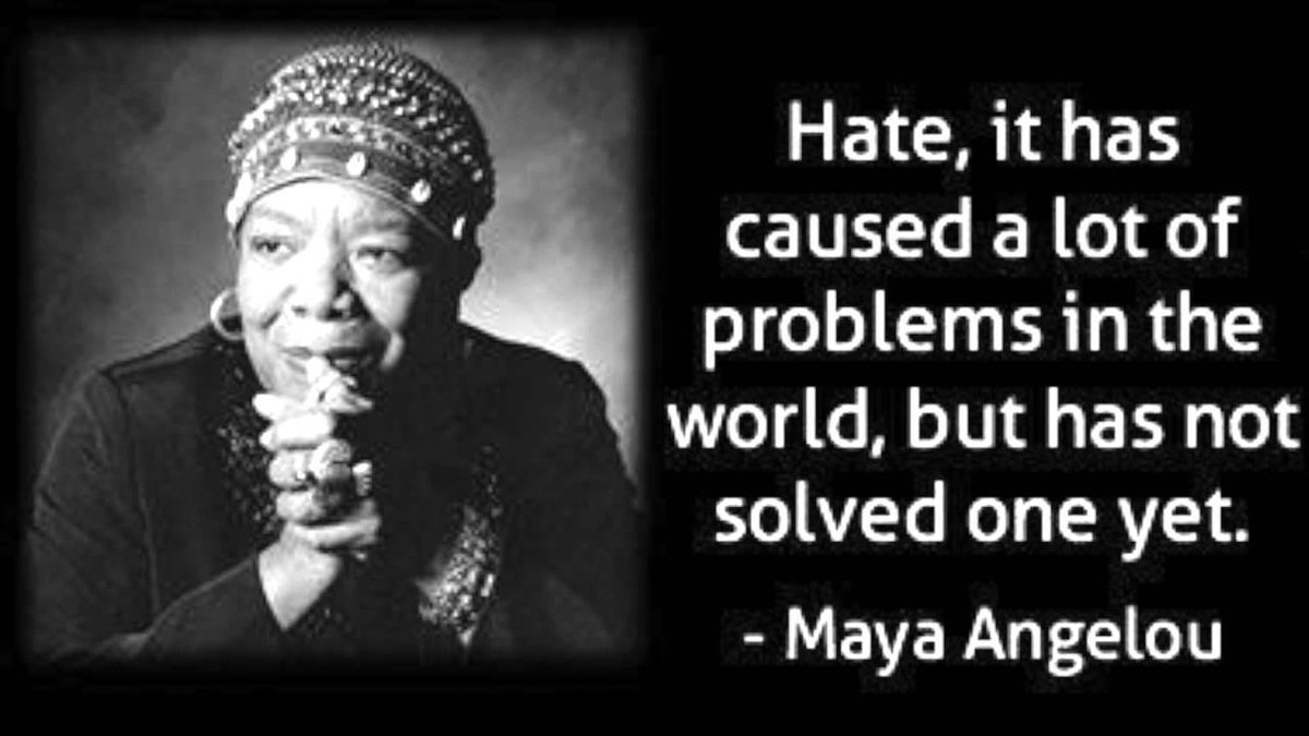 6 years ago the wonderful light of #MayaAngelou went from our world. Thankfully her powerful words live on.