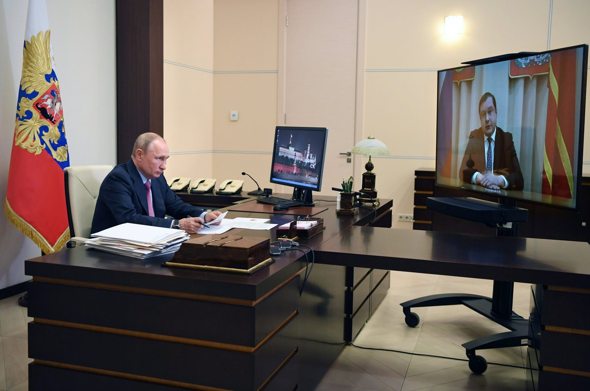 Working meeting with Smolensk Region Governor Alexei Ostrovsky bit.ly/3daWXQ1