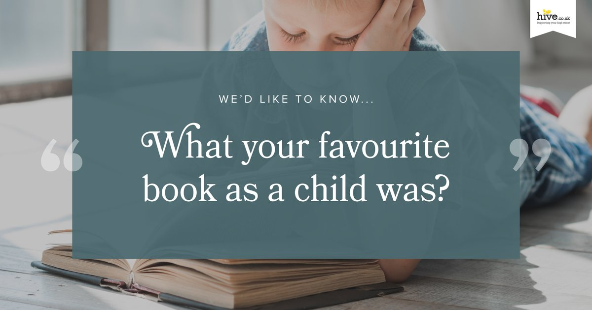 This #ThrowbackThursday, we'd like to know what your favourite book as a child was? 📖
