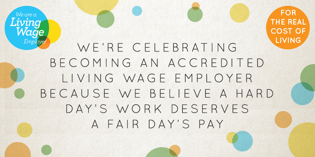 Some exciting news... @LivingWageUK livingwage.org.uk