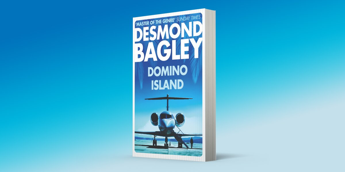 'Like a dream come true – an undiscovered Desmond Bagley novel … and it's a great one! @LeeChildReacher Discovered after more than 40 years. Out now in paperback. ow.ly/krzL50zRd55