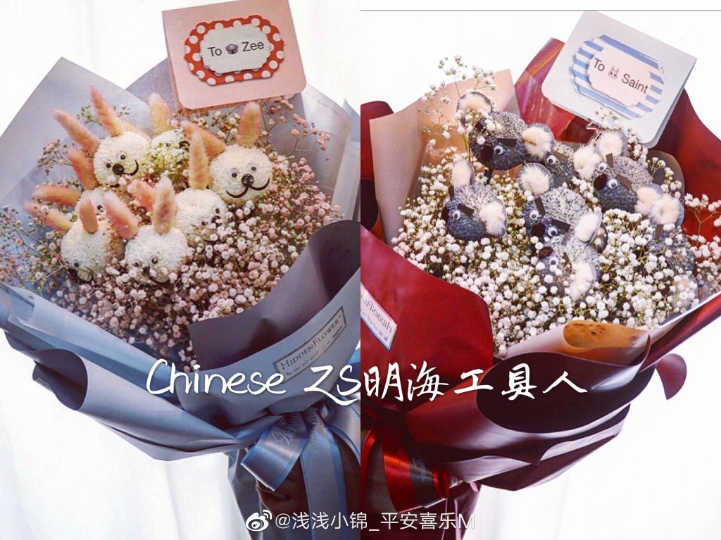 not to be biased but chinese fans always amazed me  precious, sweetest, bestest zs mommies  they even sending bucket to p'aof and p'chen  #ZaintSee<br>http://pic.twitter.com/Cumu6T05XP