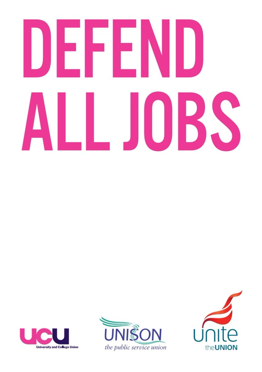 Today we launch our Defend All Jobs campaign. @LivUni is the 2nd biggest employer in the city yet looks set to let 300 peoples contracts expire by the end of June. We call on them to collectively consult with us on this and consider their responsibilities as a civic university