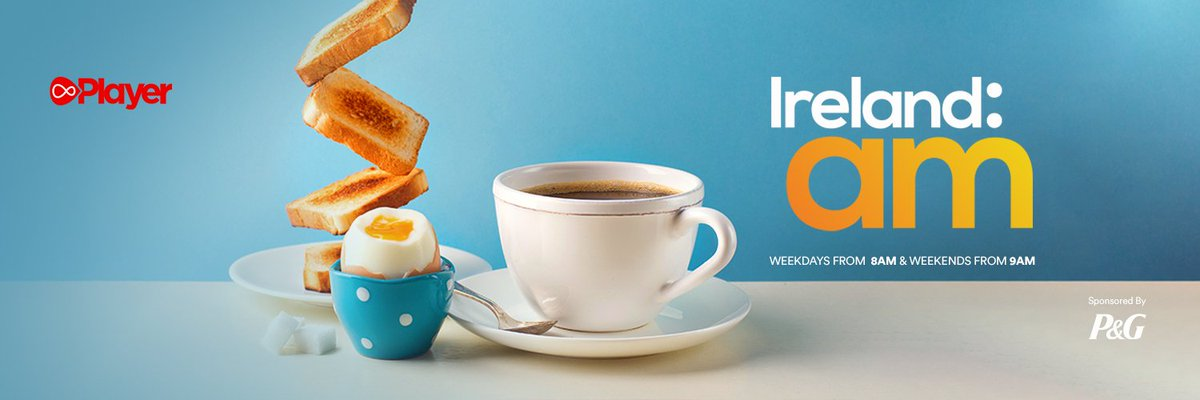 Grab your tea and toast and join our @PaulaMcLoughlin for the morning papers over on @IrelandAMVMTV this morning. We might even sneak in a blueberry muffin. Paula is on at 8:15am. https://t.co/wauHSZNB2v