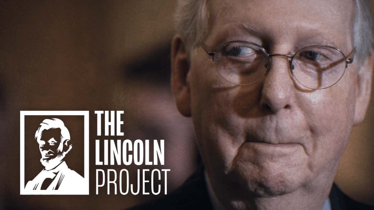 📺 After 35 years, Kentuckians are still waiting for the kinds of opportunities #RichMitch has worked so hard to give himself. 👉 This ad is on TV and digital media in @senatemajldr's home state TODAY. Pitch in now to help: secure.anedot.com/the-lincoln-pr…