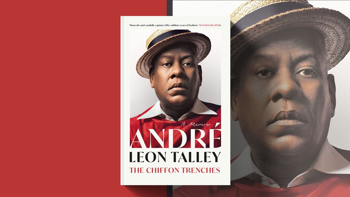 André Leon Talley's memoir tells the story of how he not only survived but thrived – despite racism, illicit rumours and all the other challenges of this notoriously cutthroat industry – to become one of the most legendary voices in fashion. Publishing today! @4thEstateBooks