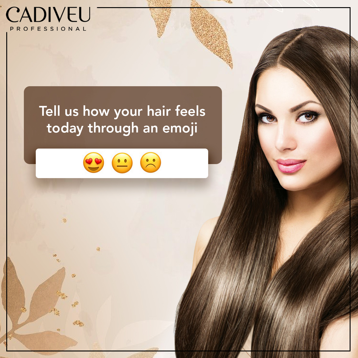 How is your hair feeling today? #CadiveuCares #CadiveuProfessional #CadiveuIndia #CadiveuLovers #HairGoals #HairDays #GoodHairDays #GoodHairDayEveryday #MoodOfTheDay #HairEssentialspic.twitter.com/eKeHJatkD4