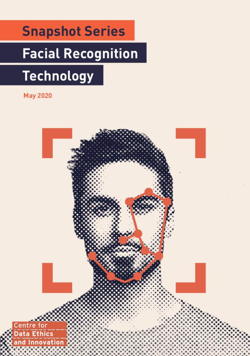 #RT @AILawHub: RT @CDEIUK: 1/9 NEW PUBLICATION: Today we've published a Snapshot briefing paper on facial recognition technology (FRT). Based on interviews with experts from across civil society and industry, it seeks to clarify the societal implications…