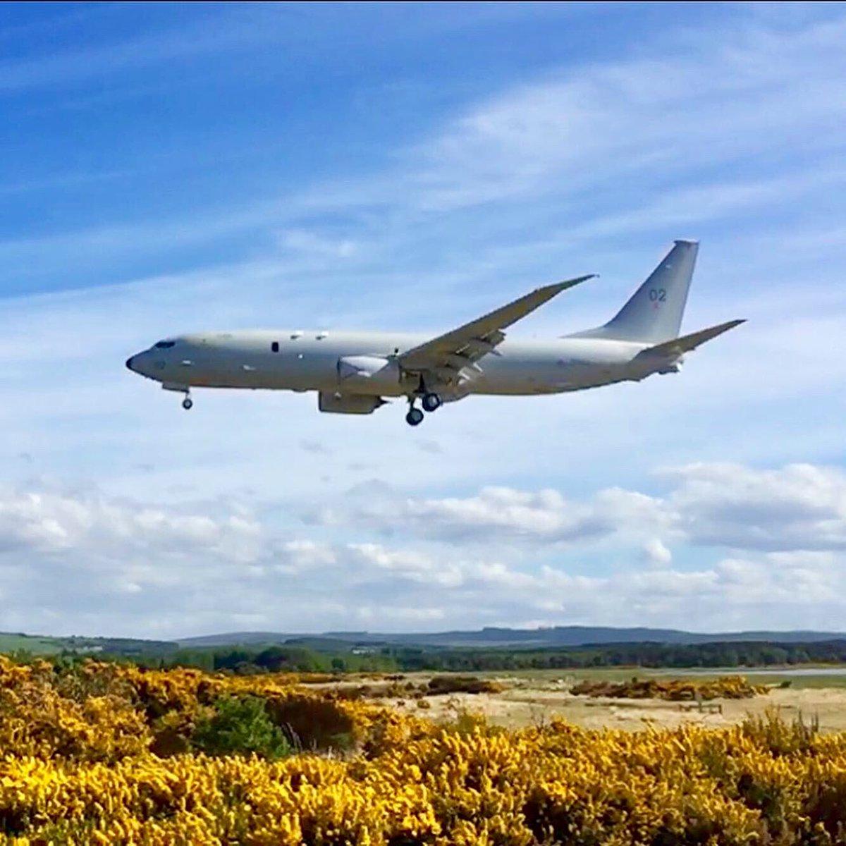 @CXX_Squadron @RAFLossiemouth @P8A_PoseidonRAF @Kinloss_Bks Arriving back yesterday. https://t.co/1gTyqK5K8w
