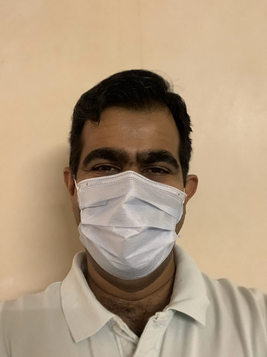 We need to wear masks PROPERLY!   Here's me wearing my mask! Cover your nose and leave it there! Don't touch it! On as you leave home off when you reach the destination and vice versa!   Let's see your pictures! And tag some friends!   #masksforpune #corona #punepic.twitter.com/TWD8giJGu9
