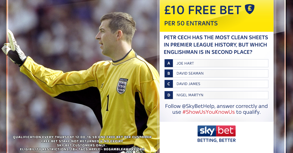 No clean sheet sky betting martingale betting strategy baccarat