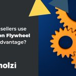 Image for the Tweet beginning: Amazon's flywheel is a successful
