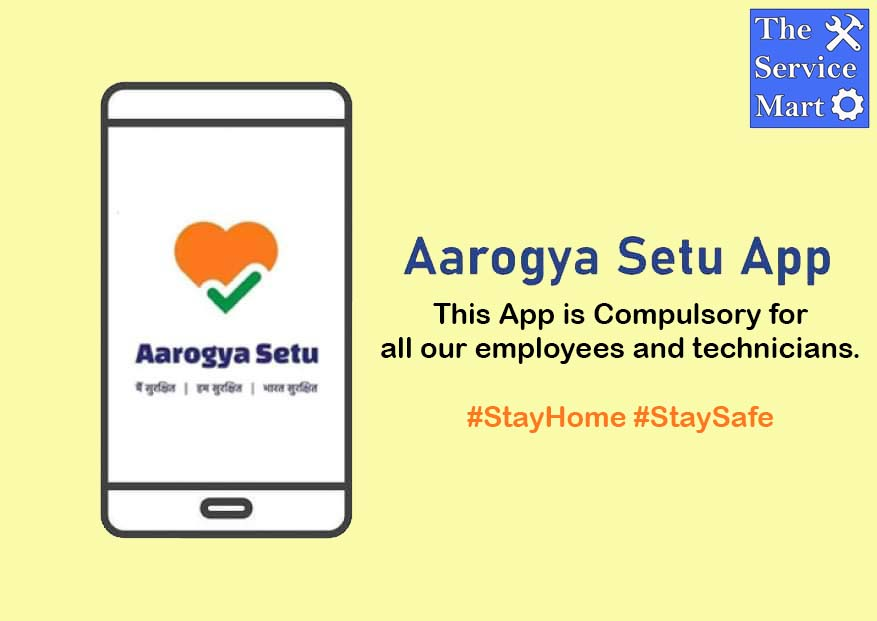 Bring Home the Experts with Surety. We make sure all our technicians and employees have the #AarogyaSetuApp installed on their phone. Daily temperature check is also conducted for every technician and employee. #kolkata #IndiaFightsCorona #servicecentre #acrepair #homeappliances https://t.co/0ou51DtYEV
