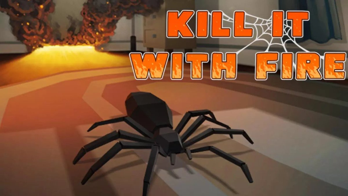 REMINDER  Tonight at 9pm CST we'll be live on http://twitch.tv/indieworldorder playing #KillItWithFire by @KIWF_Game and trying to rid our house of those pesky arachnids!!! Tune in and watch me turn the house inside out! Join us for some fun!!!  #indie #indiedev #indiegamepic.twitter.com/FN9QbhSqln