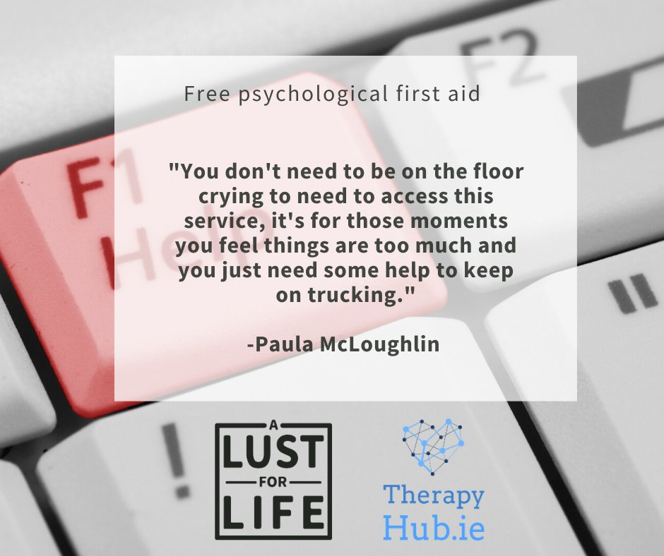 A Lust for Life charity co-founder, chair & acting CEO, @PaulaMcLoughlin discusses the overwhelm we're all feeling during the Covid19 pandemic. Please reach out to access the service. Watch the video and reach out here > https://t.co/TJ3rheN0pB @nbrez @therapyhubie @dreddiemurphy https://t.co/6Vgo3JUywv