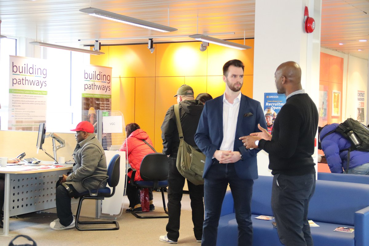 #ThrowbackThursday to the JCP Streatham Workfulness event in January, we can't wait to get back out there meeting candidates and employers! Until then, we're working virtually to provide ongoing support https://t.co/4PH5QQmKr9 🖥️📞 #ConstructionCareers #LoveConstruction