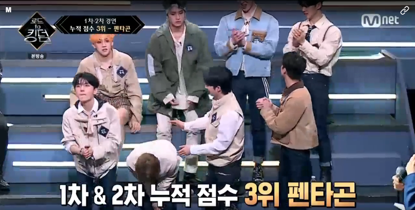 [INFO] 200528 PENTAGON's 2nd Performance 'Shine + Spring Snow ' got #3rd place in Mnet 'Road To Kingdom' #펜타곤 @CUBE_PTG<br>http://pic.twitter.com/5SAaQCxYpq