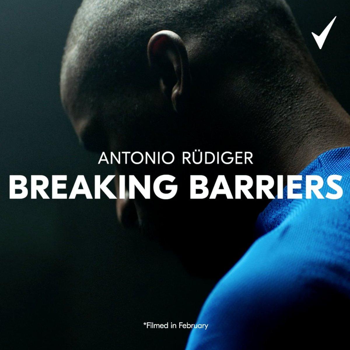 Overcoming adversity. Proving the doubters wrong. Realising childhood dreams. 👊 #BreakingBarriers, with @ToniRuediger #Rexona