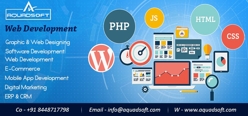 Hurry! Hurry! Hurry  Go online with Aquadsoft ''Get flat 25-30% off on all services, offer till 31st May 2020''    We are providing website designing, #websitedevelopment, game development, and #mobiledevelopment at affordable prices. #websitedesigning #websitedevelopment<br>http://pic.twitter.com/MehfHHhCI3