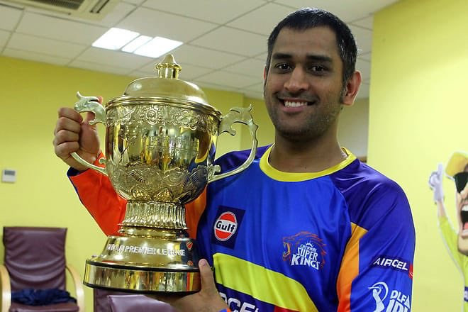 Blast from the past - Mahi's second trophy in 2 months!   #DhoniNeverTires #MSDhoni #Thala<br>http://pic.twitter.com/3pgMaoazDU