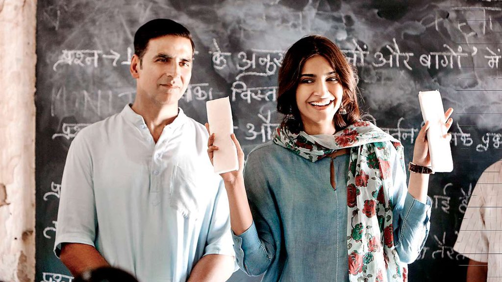 It's been 2 years to #PadMan and I'm glad we managed to push the envelope a little on this taboo subject. This #MenstrualHygieneDay, I hope we move a step closer towards ending period poverty and breaking taboos surrounding menstruation. @sonamakapoor @radhika_apte