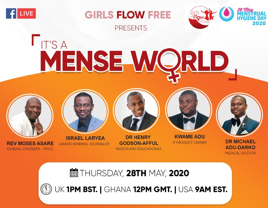 Join me let's have this conversation about Menstrual Hygiene as the world marks #MHDay2020. Conversations such as these help demystify a subject that has unfortunately been made a taboo.  #PeriodsDontStopForPandemics https://t.co/juy8IRIs0G