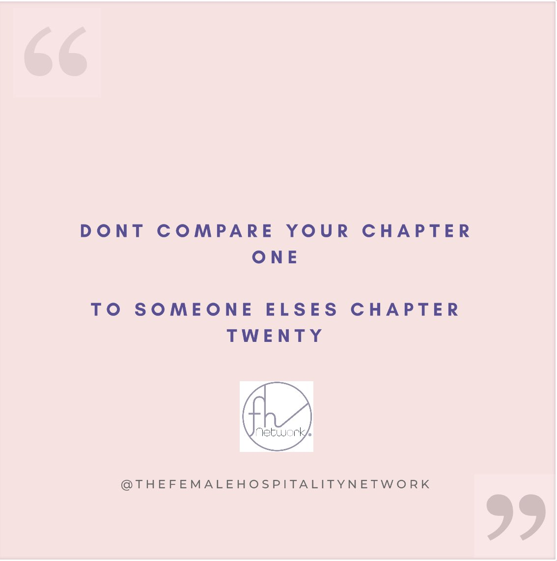 Dont compare your chapter one to someone elses chapter twenty #everyonematters #weallstartsomewhere #beoriginal pic.twitter.com/icYOm4aPoy