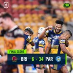 The Parramatta Eels have thrashed the Brisbane Broncos in a pulsating clash to restart the season. 👀🔥👉 https://t.co/EOOc1XBjl4