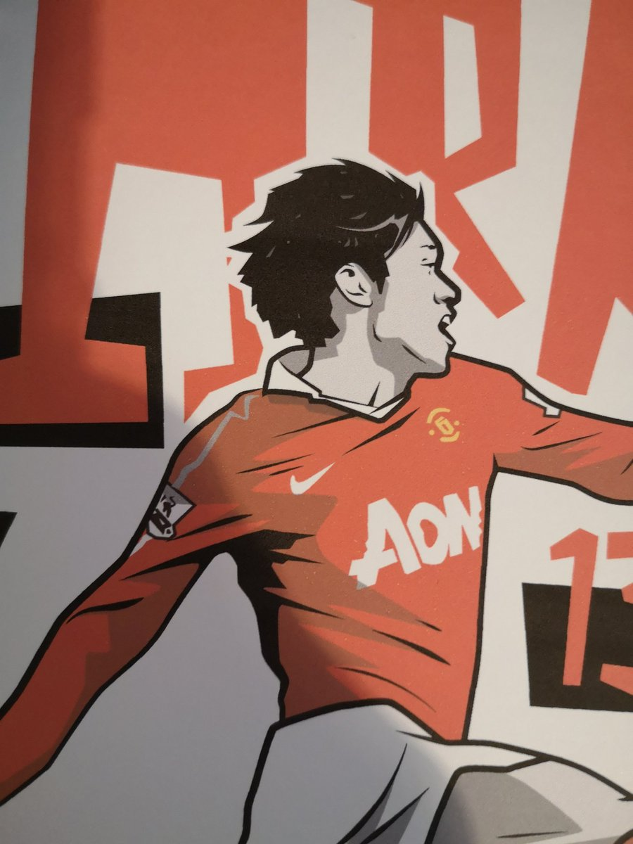 Giving away this Ji Sung Park test print. Just give a RT and follow to enter. twitter.com/johnsportraits…
