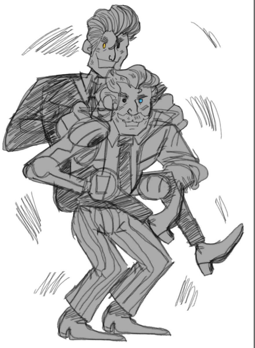 #borderlands3 katagawa jr and rhys but theyre a comedy duo where wacky hijinks ensue <br>http://pic.twitter.com/13FutcbCPG