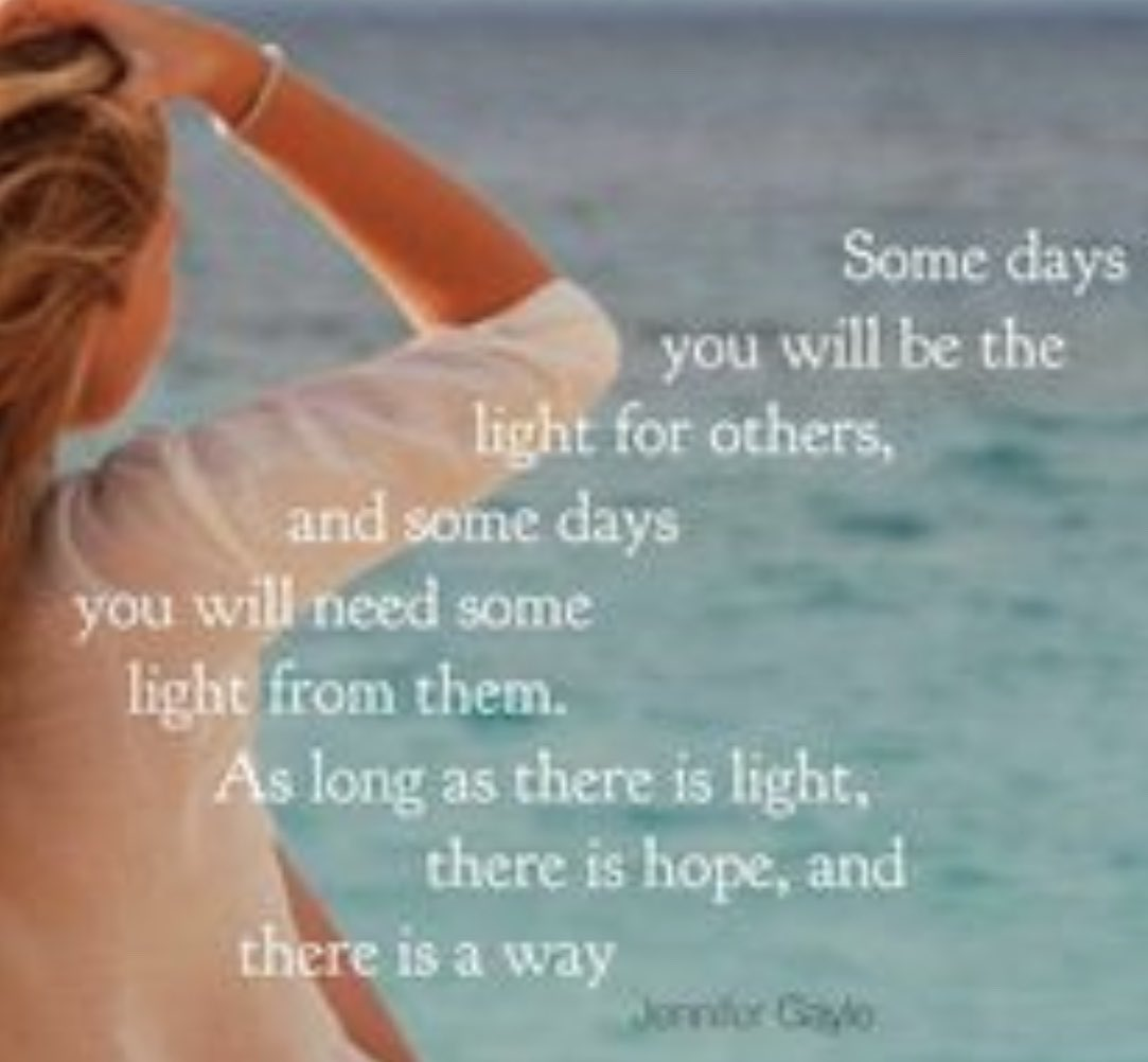 Good #thursdaymorning friends. Whether giving or receiving, the light is where hope lives.  #ThursdayMotivation #BeTheLight <br>http://pic.twitter.com/FZa2snCsKT