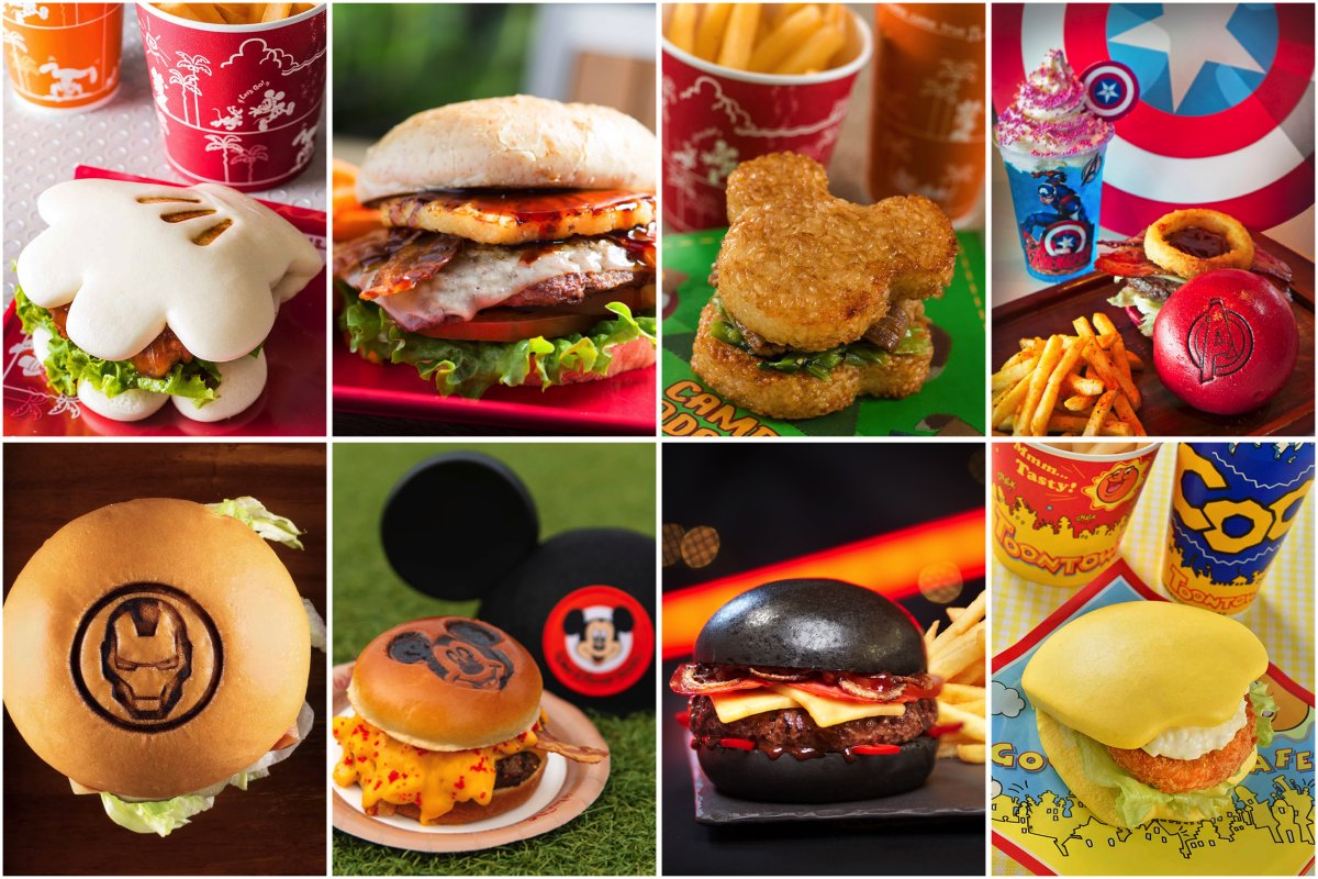 Today is Hamburger Day!  To celebrate we've cooked up a virtual smorgasbord of Disney burger favorites, a special recipe & more – past and present – from around the world!   https:// bit.ly/2XaCPYQ      #DisneyMagicMoments<br>http://pic.twitter.com/xLhyXXgmU3