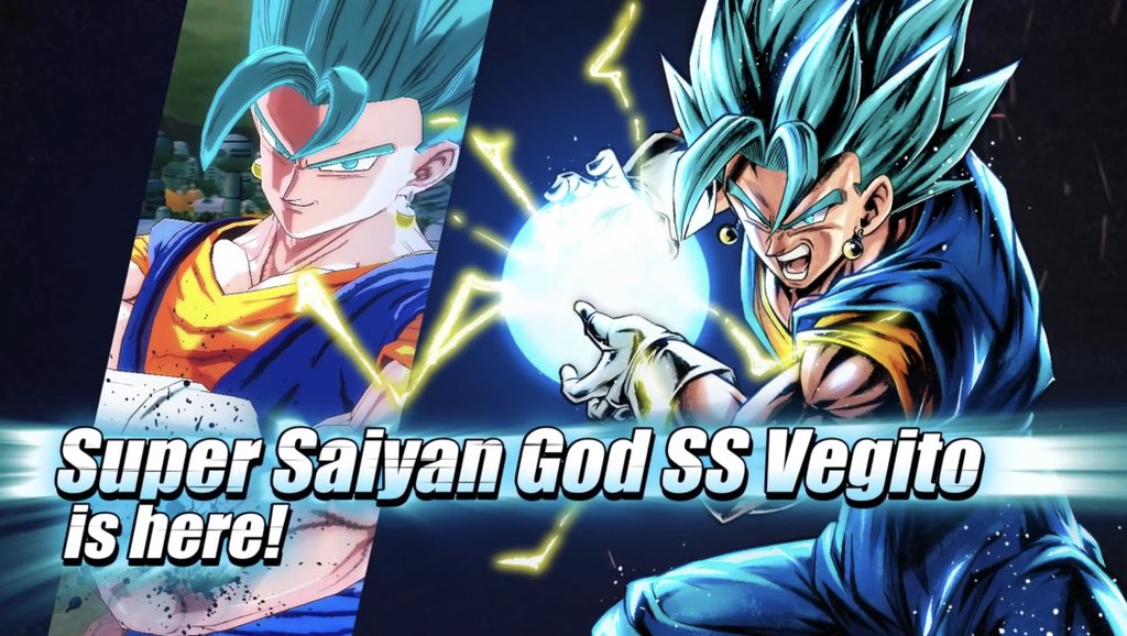 Dragon Ball Legends 2nd Anniversary New Character- Vegito Blue  #db #dbz #dbs #dbgt #sdbh #dragonball #dragonballz #dragonballgt #dragonballsuper #superdragonballheroes #zfighters #anime #dragonballforever #dragonballlegends #dragonballlegends2ndanniversarypic.twitter.com/U5vDo7Y0E6