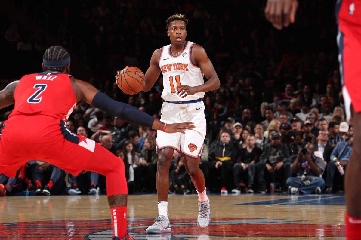 Selon @ShamsCharania, Tom Thibodeau serait le favoris pour devenir la coach des Knicks 😳 Pour Franky : Started from DNP to 48 minutes real quick 😂