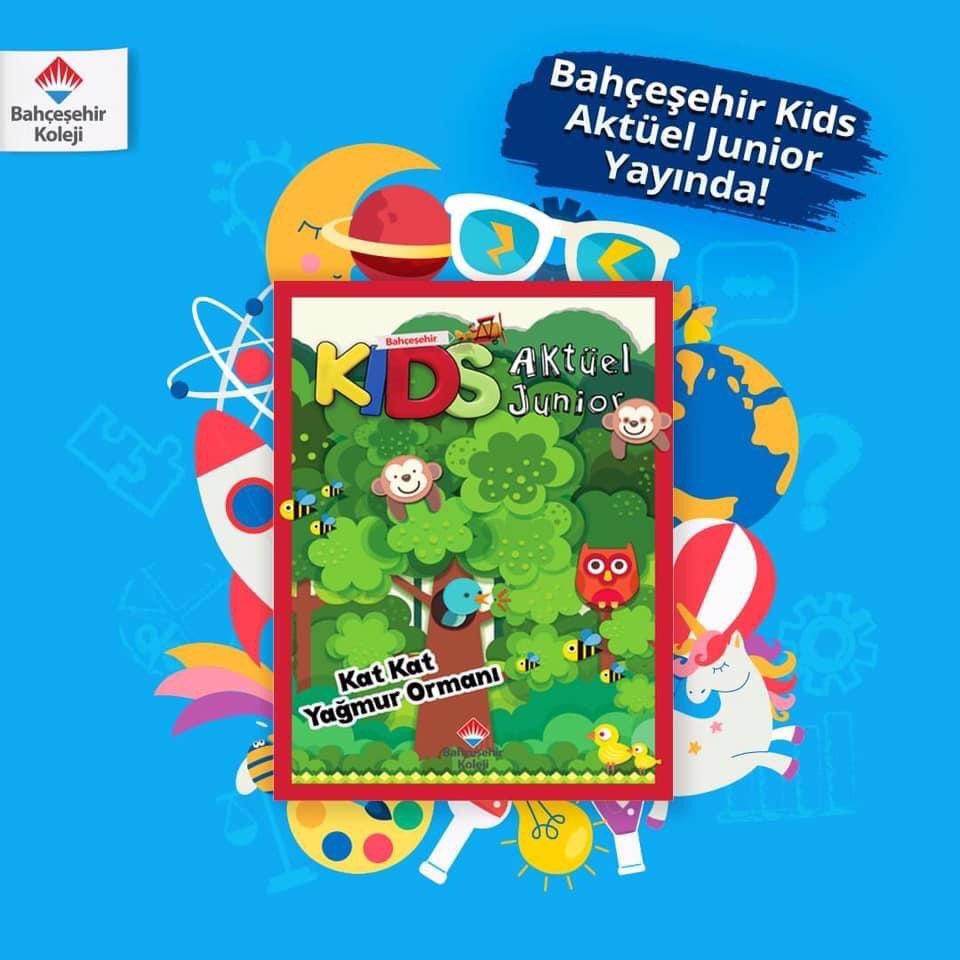 📣 Bahçeşehir Kids dergisinin birbirinden keyifli konuların yer aldığı eki 'Kids Aktüel Junior' yeni sayısı yayında! 🎉    👉🏻 https://t.co/Q2tP9PrWmF https://t.co/73kmHMug1s
