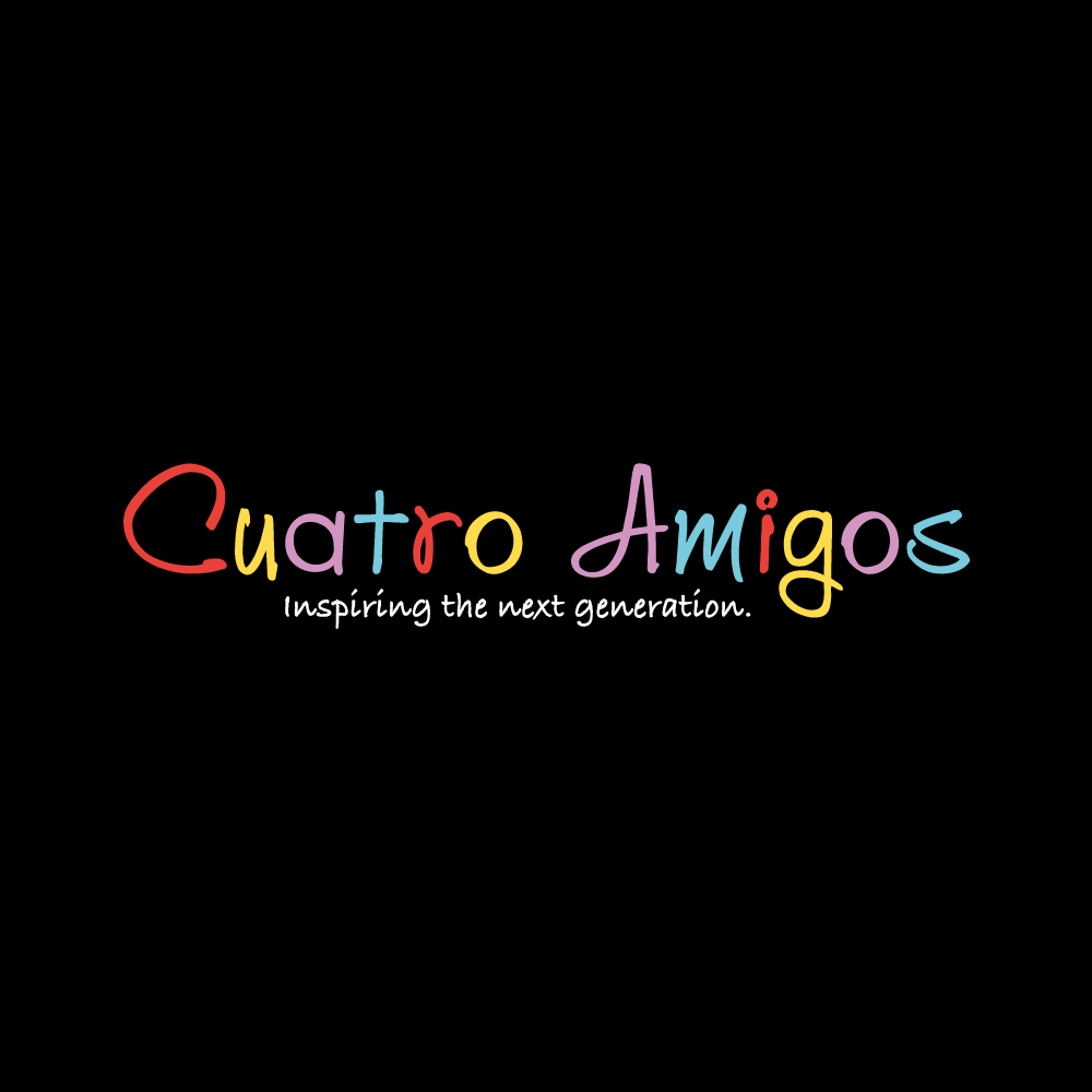 Could not be happier with our logo the start of an amazing vision myself and my best friends all dads have in creating a kids clothing brand to inspire our next generation through colourful simplicity. Please visit our instagram business page cuatroamigos2020 for a better insight