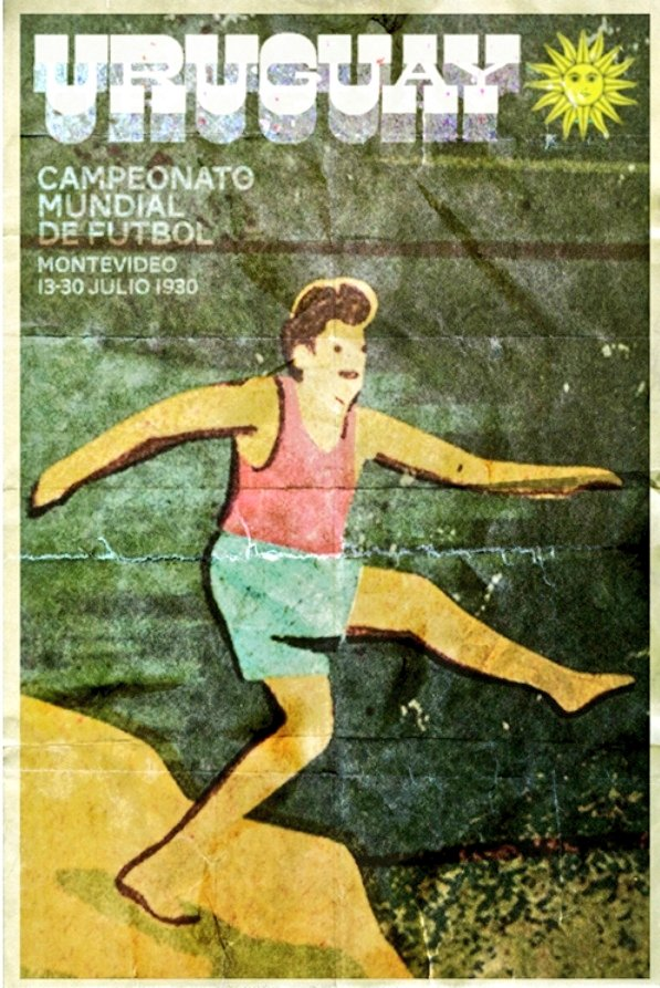 Poster for the 1930 World Cup held in Uruguay  #Uruguay #WorldCup #Posterspic.twitter.com/NkjCD5Sym6