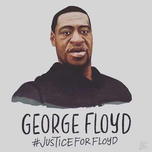#GeorgeFloydWasMurdered