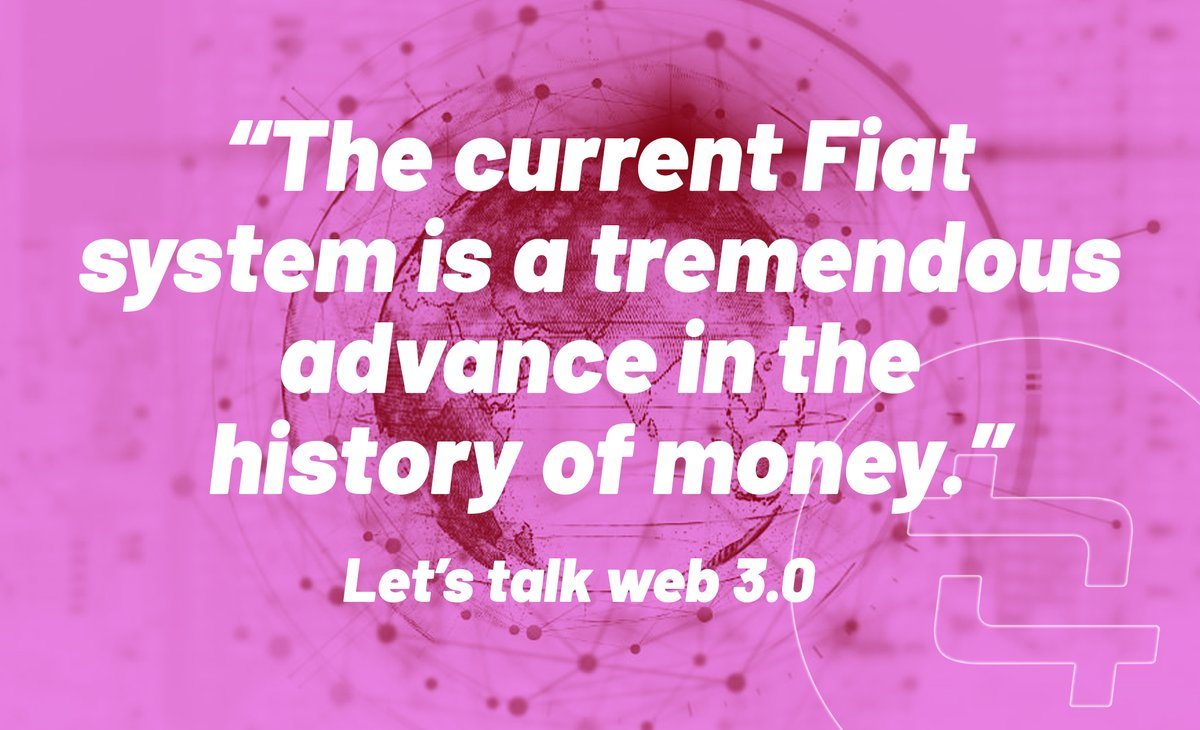 """""""The current Fiat system is a tremendous advance in the history of money."""" – Ido Sadeh Man, #saga  Another great quote from @TagionGrowth Telegram chat on web 3.0.  full article: https://t.co/iStdXwGpkN forum: https://t.co/AWApqD2WPd  #web3 #tagion #cointelligence #telegramchat https://t.co/biCny5NLuk"""