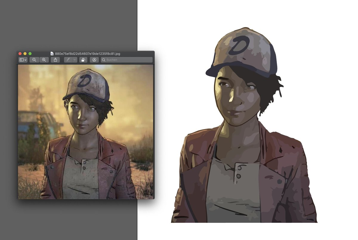 Clementine is one of the best game characters in history. If you played the walking dead games u can literally see her growing up to the most badass teenager ever. I spend 8 hours on this.  #TWD<br>http://pic.twitter.com/09yFYoaNGI