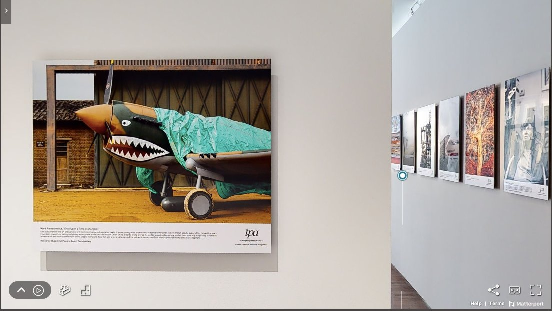"""International Photography Awards """"Best of Show 2019"""" is now at House of Lucie in Budapest. My image of a WWII American air base, recreated for a forthcoming film, is hanging in the kitchen. Wander through the virtual visit via the link https://t.co/M98L15QNz6 https://t.co/Tf3LTVRL7Q"""