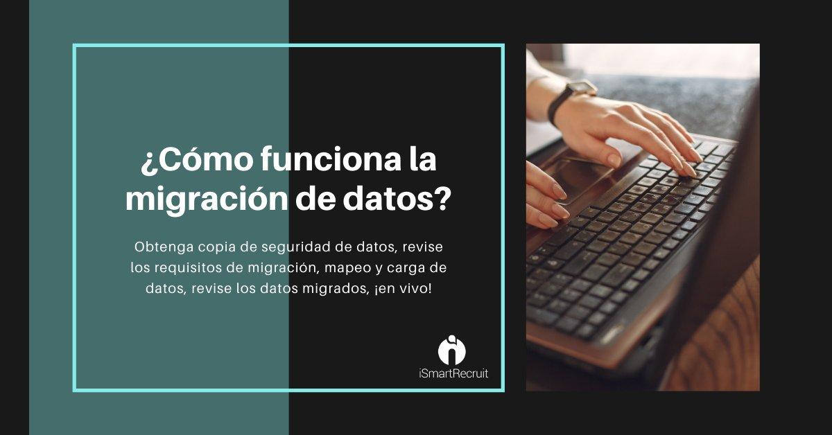 La migración de datos le permite trasladar sus datos a @iSmartRecruit.  https://bit.ly/2ZLRXxs  #humanresource #reclutamiento #hrmexico #capitalhumano #rrhh #HRBP #talentohumano #ats #rrhhmexico #rrhhargentina #softwaredereclutamiento #sistemadereclutamientopic.twitter.com/KhC5dWeVSa