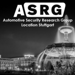 Image for the Tweet beginning: It's Automotive Cybersecurity Research Group