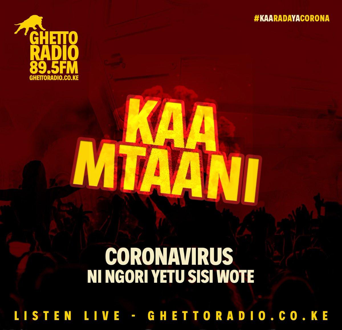 Kama huna kibarua mjini, stay home stay safe #TibaNiSisi #Goteana