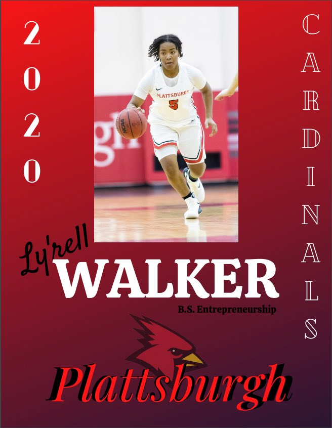 Congratulations to Ly'rell Walker for graduating this spring! https://t.co/qzVJMqG8zY