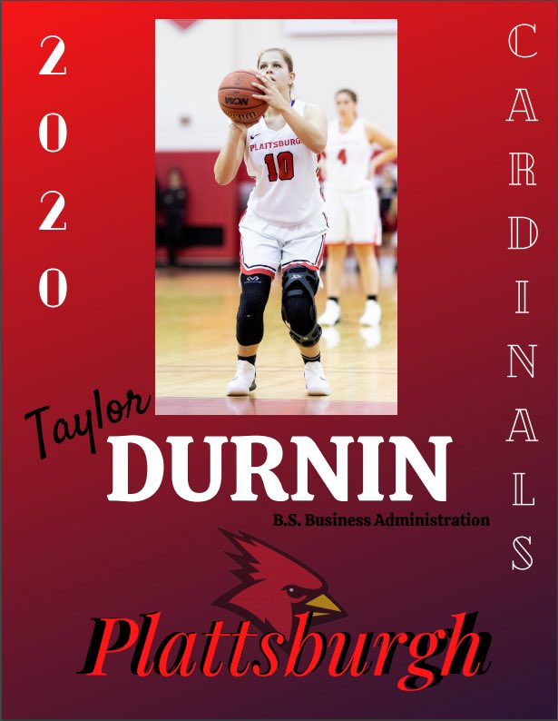 Congratulations to Taylor Durnin for graduating this spring! https://t.co/o7W8ILot9O