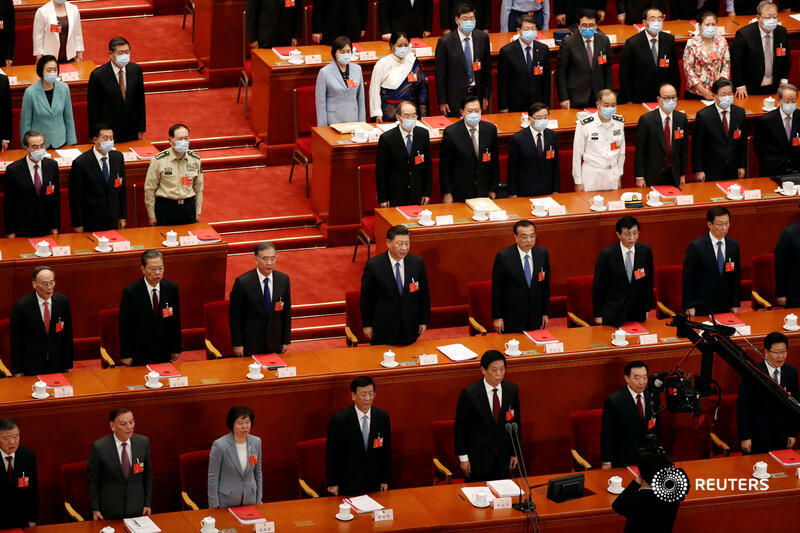 China's parliament approves Hong Kong security bill that democracy activists in the city and Western countries fear could jeopardize its special autonomy and freedoms https://t.co/4QOe7K8634 https://t.co/cSoyW4IlhL