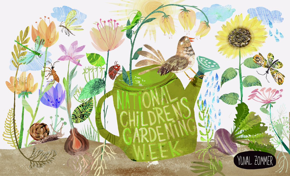 It's National Children's Gardening Week! (23rd -31st May, UK) If you're lucky enough to have a garden, there has never been a better time to teach kids how to grow-your-own.  #SolaceInNature #ThursdayThoughts #kidsneednature #spring2020 pic.twitter.com/M1CYylAEtV