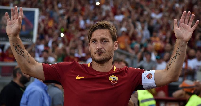 #Totti