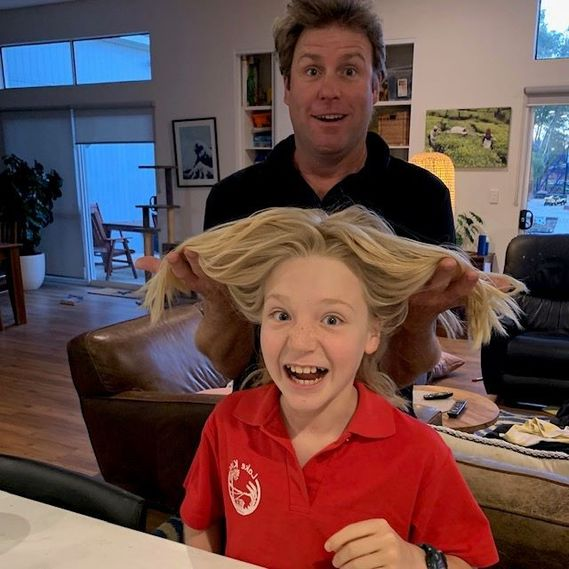 Shout out for our local champ-Lawson. He has had his golden locks since playgroup and will shave it all off to raise money for the Perth Children's Hosp where his cousin is recovering from a bad farm accident, any support for him would be awesome 🙏 PRT  https://t.co/KDBWEuV7Fx https://t.co/Tyups5P2IG